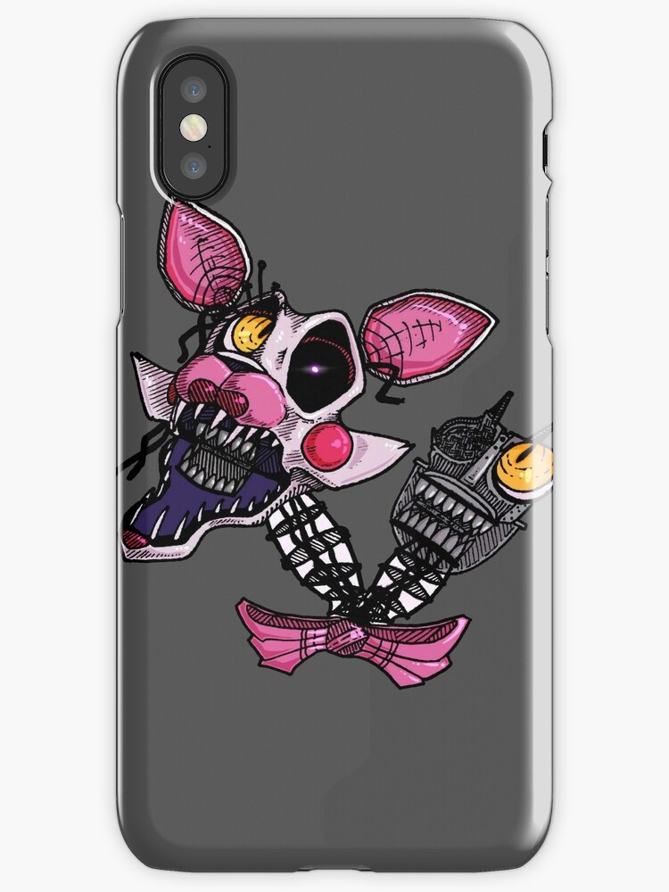 how to add calendar to iphone quot fnaf2 the mangle quot iphone cases amp covers by tentacledeer 4705