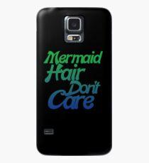 Funda/vinilo para Samsung Galaxy Mermaid hair don't care