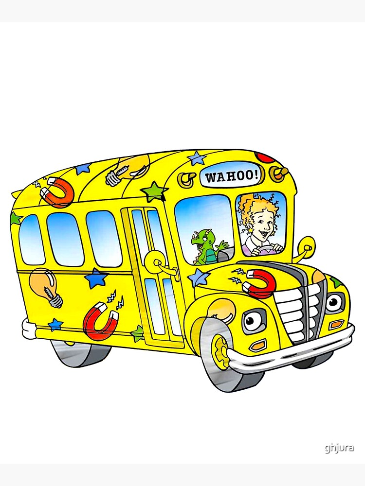 The magic school bus by ghjura