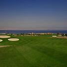 Taba Heights Golf Resort Hole 9 Par 5 by Helen Shippey