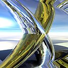 Double Helix Reflections CRII by Hugh Fathers