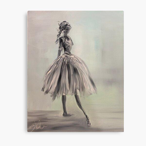 Bella Ballerina Metal Print