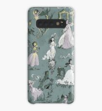 Girls Running From Houses Case/Skin for Samsung Galaxy