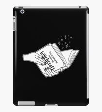 Complete Guide To Witchcraft  iPad Case/Skin