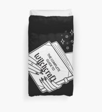 Complete Guide To Witchcraft  Duvet Cover