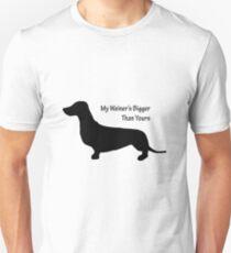 Sausage Dog/ Weiner dog funny T-Shirt T-Shirt