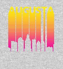 Retro 1980s Augusta City Skyline Kids Pullover Hoodie
