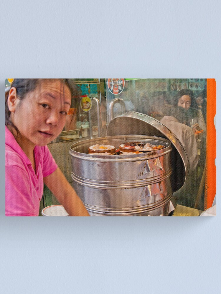 Alternate view of Dim Sum Canvas Print