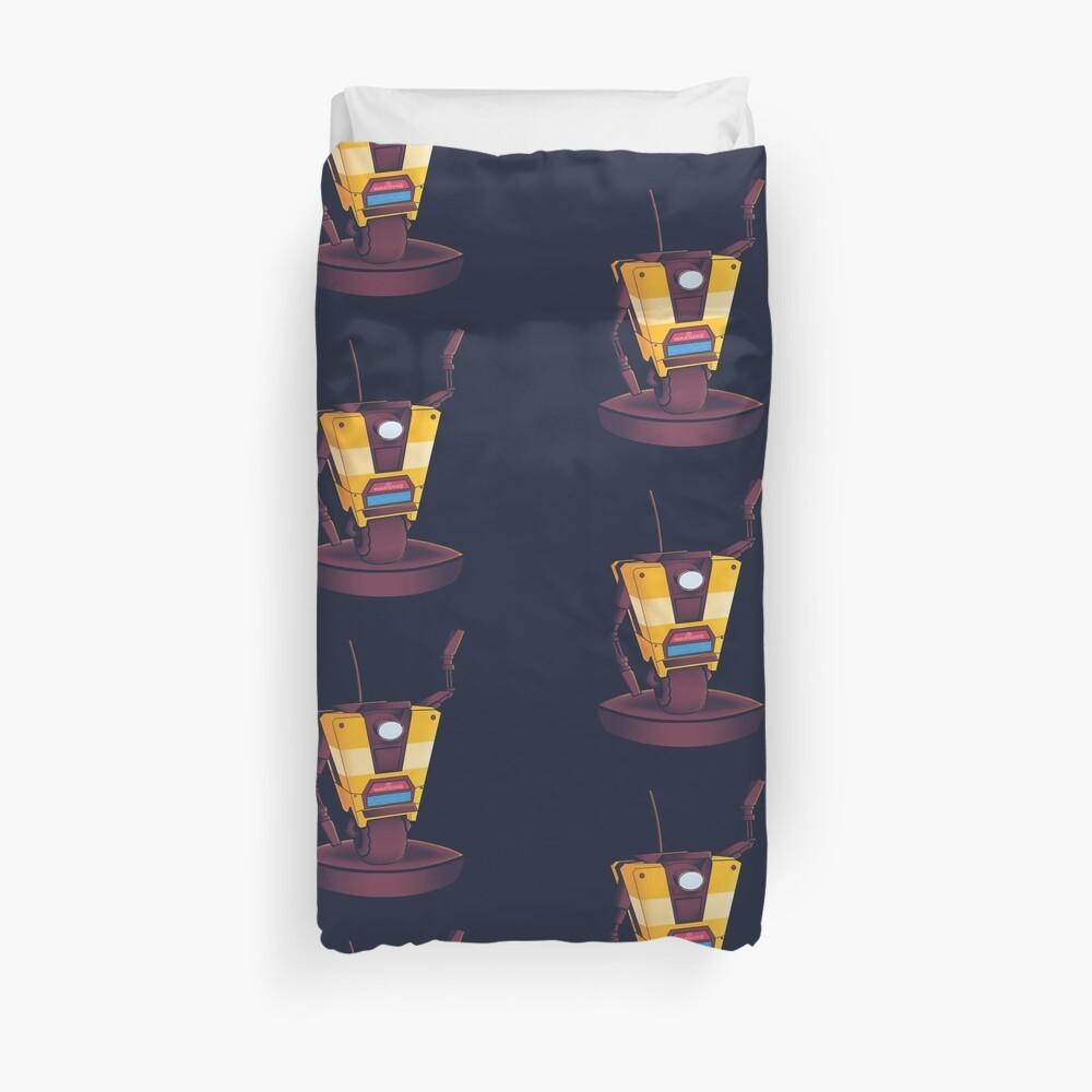Waving Claptrap! Duvet Cover