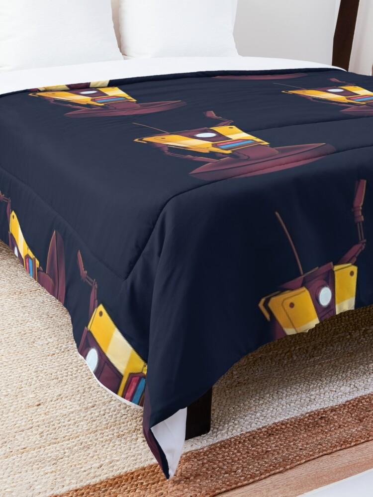 Alternate view of Waving Claptrap! Comforter