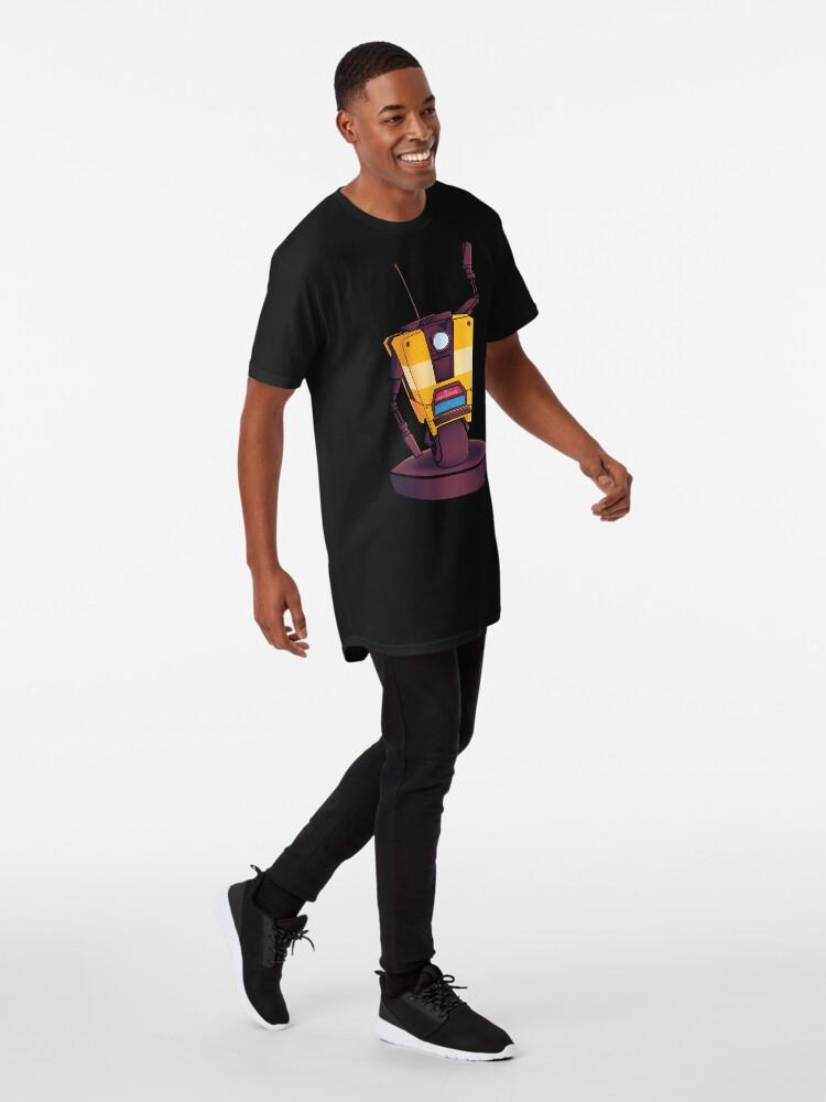 Alternate view of Waving Claptrap! Long T-Shirt