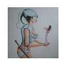 femme robot by juha