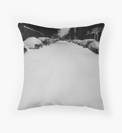 the endless open road II Throw Pillow