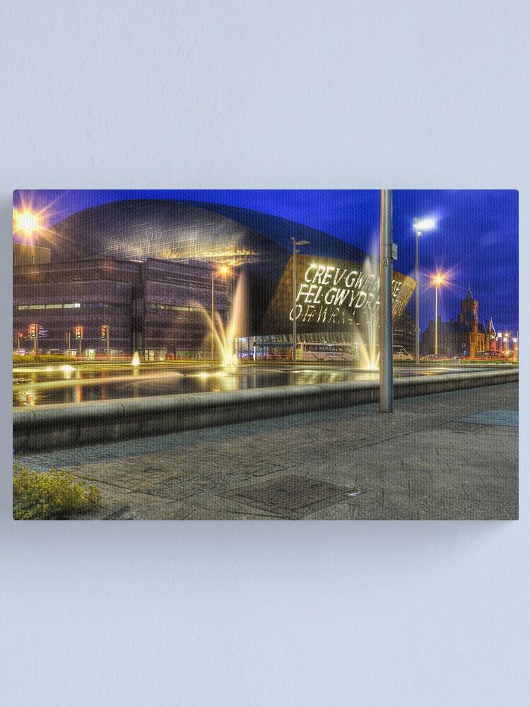 Alternate view of Millennium Centre Cardiff Canvas Print