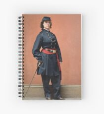 Pauline Cushman, a spy for the Union in the Civil War Spiral Notebook