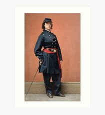 Pauline Cushman, a spy for the Union in the Civil War Art Print