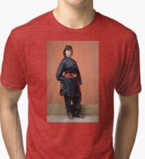 Pauline Cushman, a spy for the Union in the Civil War Tri-blend T-Shirt