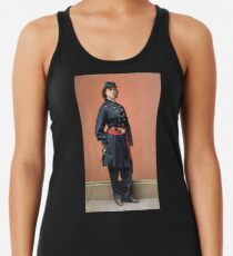 Pauline Cushman, a spy for the Union in the Civil War Racerback Tank Top
