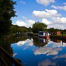 Cloudy Canal by Liam O'Brien