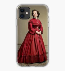 Pauline Cushman, actress and a spy for the Union in the Civil War. Made brevet Major by President Lincoln for her efforts in the war. 1865.  iPhone Case