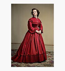 Pauline Cushman, actress and a spy for the Union in the Civil War. Made brevet Major by President Lincoln for her efforts in the war. 1865.  Photographic Print