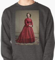 Pauline Cushman, actress and a spy for the Union in the Civil War. Made brevet Major by President Lincoln for her efforts in the war. 1865.  Pullover Sweatshirt