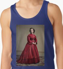 Pauline Cushman, actress and a spy for the Union in the Civil War. Made brevet Major by President Lincoln for her efforts in the war. 1865.  Tank Top