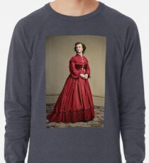 Pauline Cushman, actress and a spy for the Union in the Civil War. Made brevet Major by President Lincoln for her efforts in the war. 1865.  Lightweight Sweatshirt