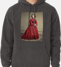 Pauline Cushman, actress and a spy for the Union in the Civil War. Made brevet Major by President Lincoln for her efforts in the war. 1865.  Pullover Hoodie