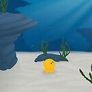 Above The Waves (ocean scene) by Josh Bush