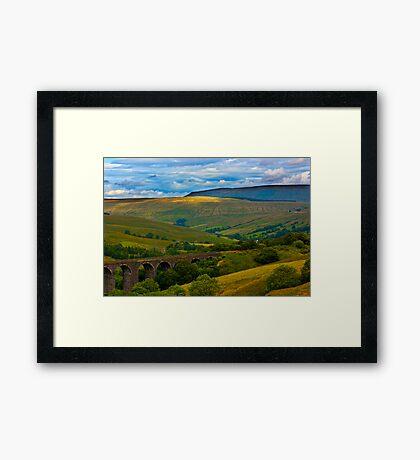 Above the Viaduct - Dentdale Framed Print
