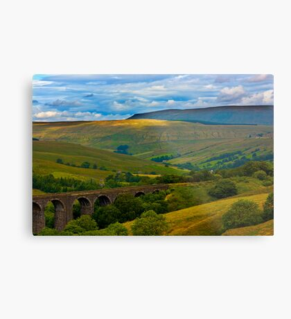 Above the Viaduct - Dentdale Metal Print