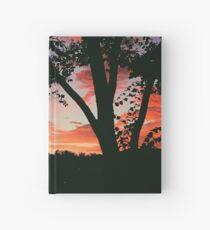 Sunset in San Rafael Hardcover Journal