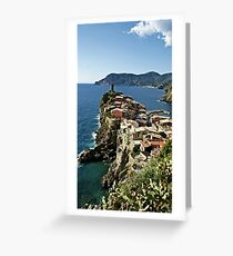 """""""Monterosso"""" Greeting Card"""