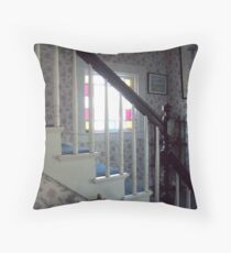 Stained Glass Satircase Throw Pillow