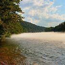 Mid-summer Foggy River by Richard Skoropat