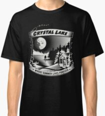 Camp Crystal Lake: Where Summer Lives Forever Classic T-Shirt