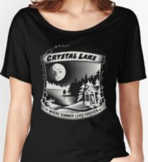 Camp Crystal Lake: Where Summer Lives Forever Women's Relaxed Fit T-Shirt