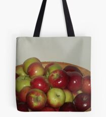Apple Stand Tote Bag