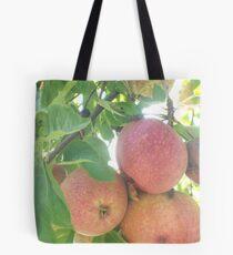 Picking Apples Tote Bag