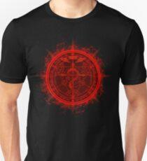 Human Transmutation Circle. Fullmetal Alchemist T-Shirt