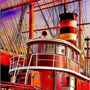 The Tug Boat Helen McAllister by ChrisLord