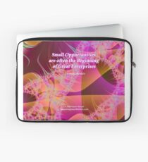 Small Opportunities Laptop Sleeve
