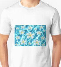 Frangipani flower in the swimming pool T-Shirt