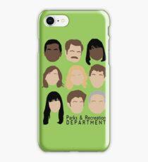 Parks Team iPhone Case/Skin