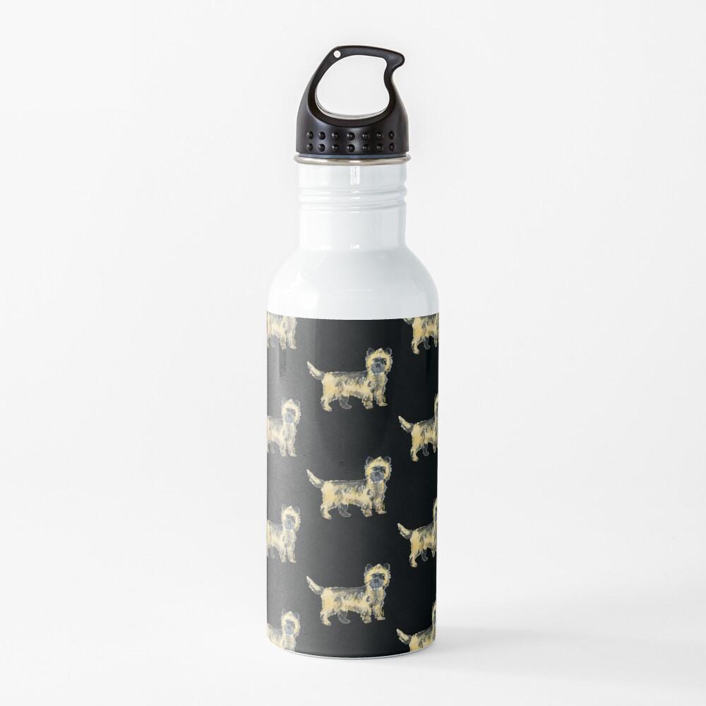 Cairn Terrier Illustration Water Bottle