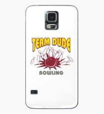 The Dude Bowling T-Shirt Case/Skin for Samsung Galaxy