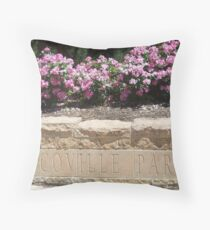 Summer in Scoville Park Throw Pillow