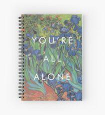 pvris / van gogh / holy Spiral Notebook