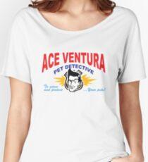 Ace Ventura Pet Detective shirt (Business Card) Women's Relaxed Fit T-Shirt